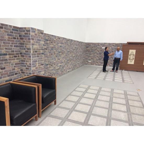 351-108 Strotex Kırık Tuğla Duvar Paneli 30x120 Ölçüleri